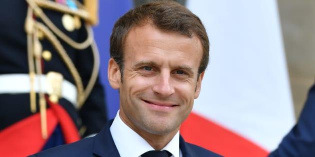 """""""Benalla n'a jamais détenu les codes nucléaires"""": Macron ironise sur l'article de Nordpresse qui a piégé un député (photo prise le 20 juillet)"""