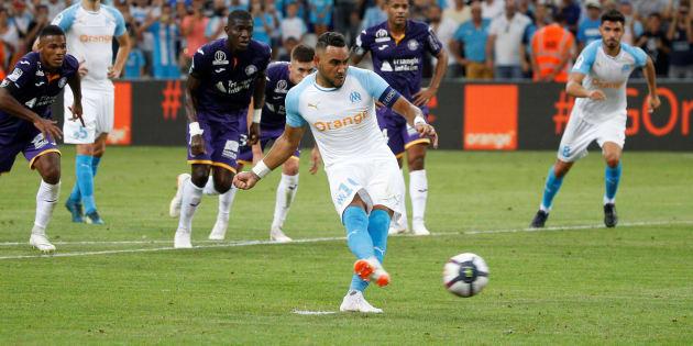 Dimitri Payet a inscrit le premier but de la saison en L1, lors d'OM-Toulouse le 10 août 2018.