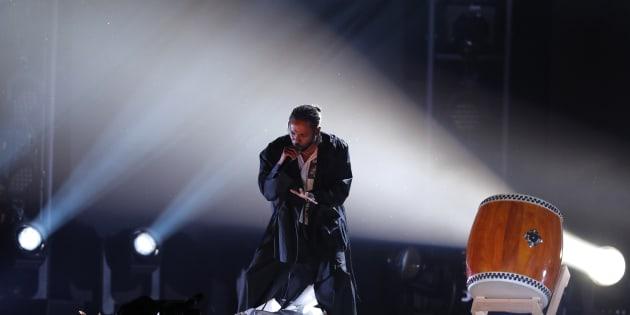 60th Annual Grammy Awards ? Show ? New York, U.S., 28/01/2018 ? Kendrick Lamar performs a medley. REUTERS/Lucas Jackson