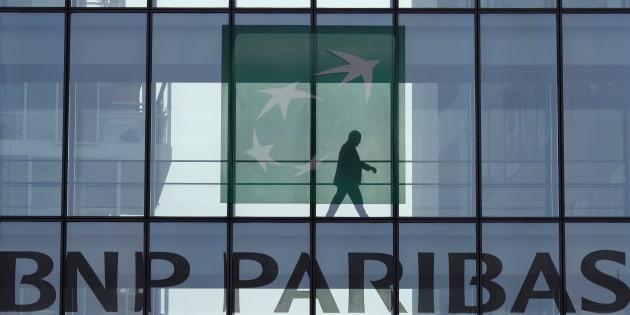 Un immeuble de BNP Paribas à Issy-les-Moulineaux, près de Paris, en avril.