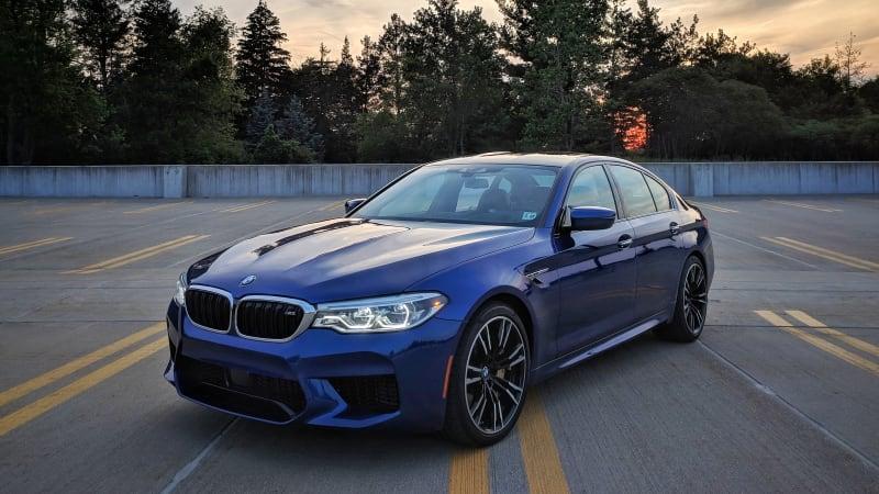 2018 BMW M5 Drivers