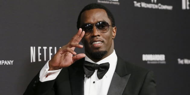 "Sean ""Diddy"" Combs arrives at The Weinstein Company & Netflix afterparty after the 71st Golden Globe Awards in Beverly Hills, California. January 12, 2014."