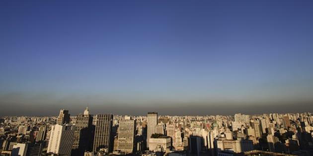 A poluição do ar em São Paulo é o dobro do considerado seguro pela Oganização Mundial da Saúde.
