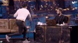 Wismichu pide perdón por lo que hizo al final de su entrevista con Broncano en 'La