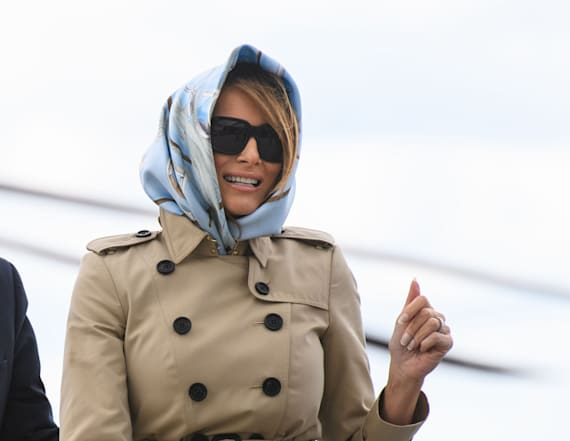 Is Melania T. the new Jackie O?