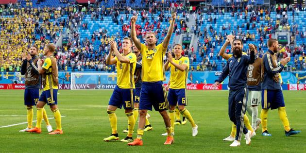 Coupe du monde 2018: La Suède se qualifie pour les quarts en battant la Suisse