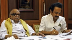 DMK Chief Karunanidhi Names Younger Son Stalin As His Political