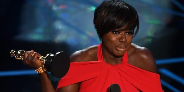 Viola Davis faz discurso ao ganhar seu primeiro Oscar :)
