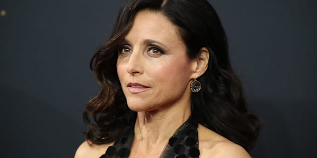 Julia Louis-Dreyfus aux Emmy Awards le 18 septembre.
