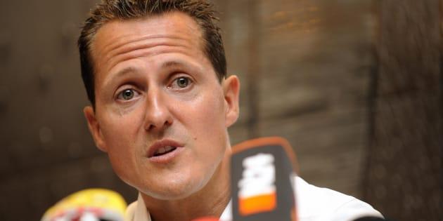 Michael Schumacher en 2009.