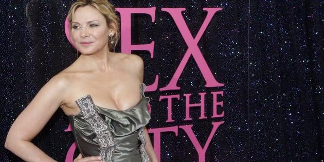 """Kim Cattrall à la première de """"Sex And The City"""" à New York en mai 2008."""