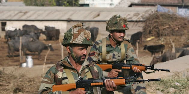 File photo of Indian army soldiers.