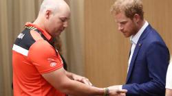 Le princeHarryest arrivé à Toronto pour les Jeux