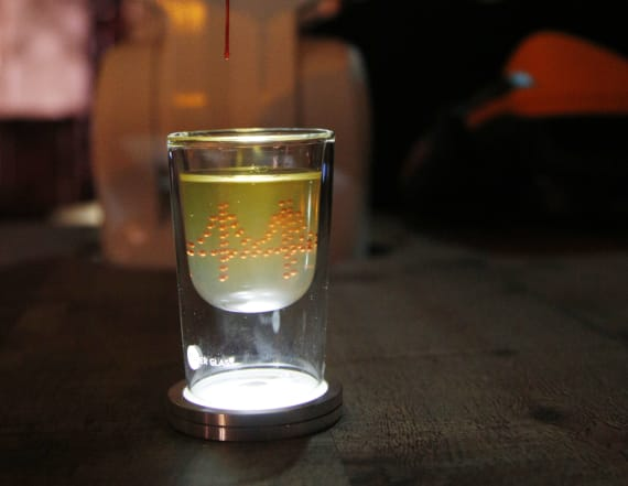 Bulleit unveils futuristic 3D printed cocktail