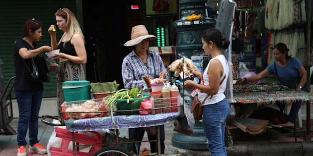 """Street vendors are far more likely to be evicted from fancy neighbourhoods than poor ones."""