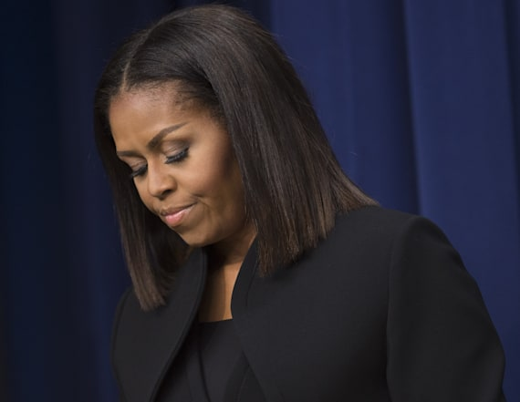 Michelle Obama says the US is being 'tested'