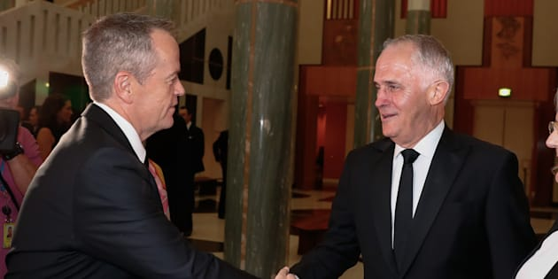 Opposition Leader Bill Shorten and Prime Minister Malcolm Turnbull are getting pay rises.