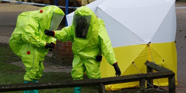 Qu'est-ce que le Novichok, gaz neurotoxique utilisé pour empoisonner l'ex-espion Sergueï Skripal.