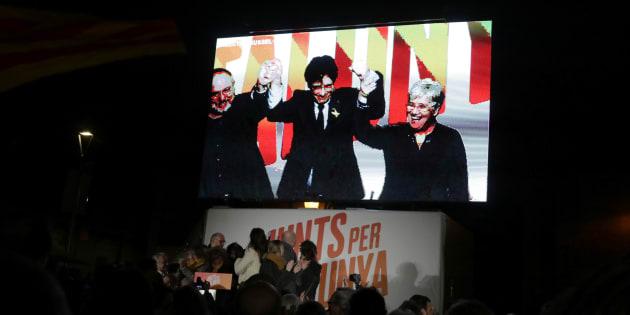 Les indépendantistes obtiennent la majorité absolue aux élections en Catalogne