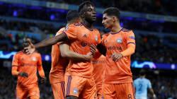 Lyon réussit l'exploit de s'imposer sur la pelouse de Manchester