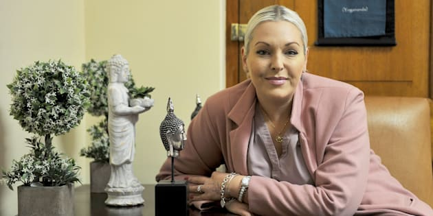 Natasha Mazzone during an interview at her office in Parliament on May 10, 2018.
