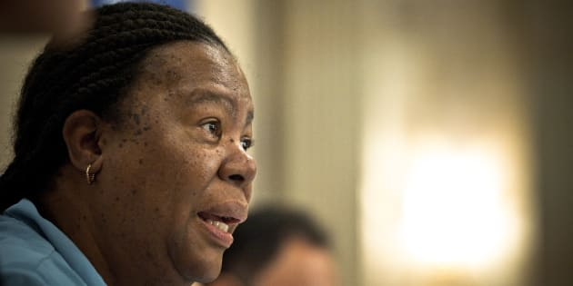 South African Science and Technology Minister Naledi Pandor in Pretoria, South Africa, May, 2011.