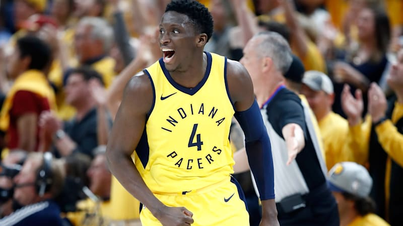 9f233f878 Indiana Pacers star Victor Oladipo will drive the Indy 500 pace car ...