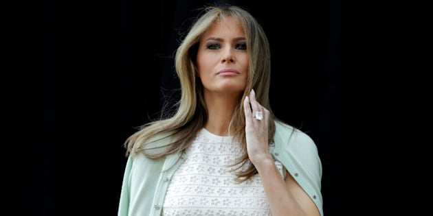 "Melania Trump, la lente mais laborieuse approriation du rôle de ""First Lady"""