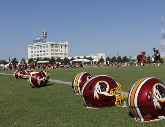 Nike appears to wipe 'Redskins' off website