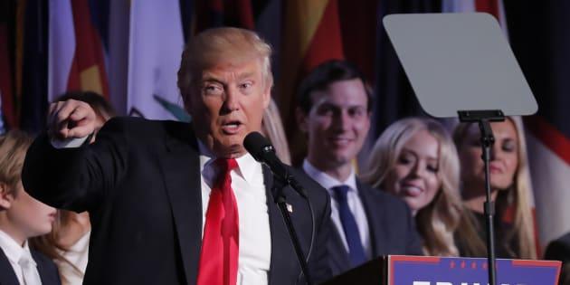 Donald Trump va renoncer à son salaire de président
