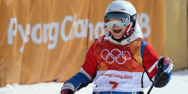 Jeux olympiques d'hiver 2018: Marie Martinod en argent en ski half-pipe, 11e médaille française.