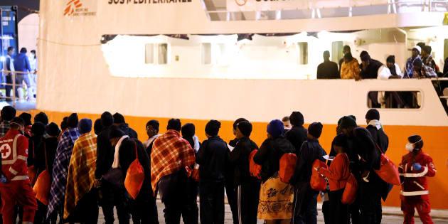 La moitié des 630 migrants secourus par l'Aquarius veulent l'asile en France