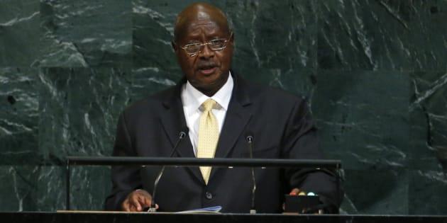 Le président ougandais Yoweri Museveni.