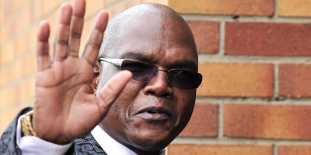 Dismissed crime intelligence head Richard Mdluli.