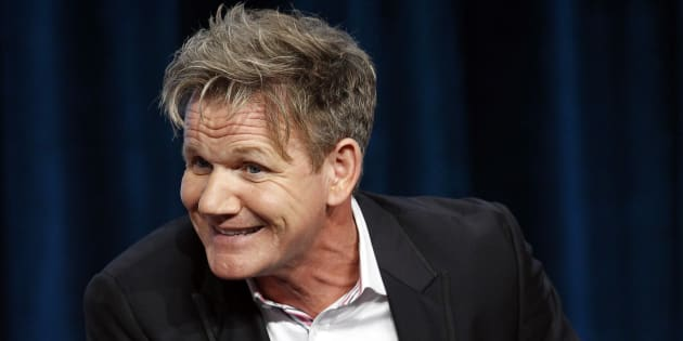 "Judge and executive producer Gordon Ramsay attends a panel for the television show ""Master Chef Junior"" during the Fox portion of the Television Critics Association Summer press tour in Beverly Hills, California August 1, 2013.   REUTERS/Mario Anzuoni  (UNITED STATES - Tags: ENTERTAINMENT)"