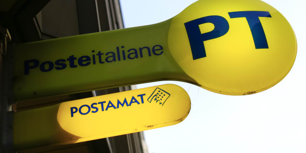 The logo of Poste Italiane is seen in Rome, Italy February 24, 2016. Reuters/Tony Gentile