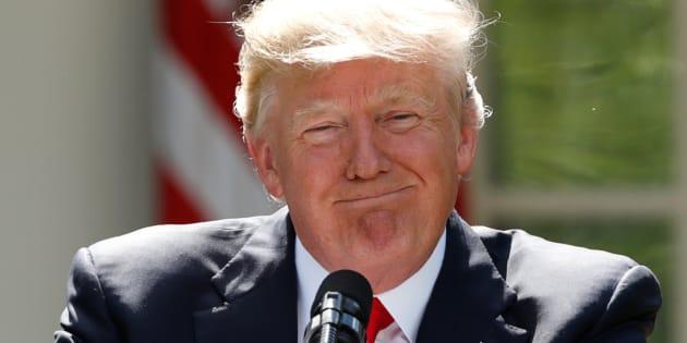 """Donald Trump veut remplacer le terme de """"changement climatique"""" par """"phénomènes météorologiques extrêmes"""". (Photo d'illustration)"""