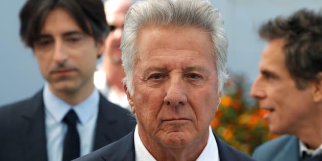 Dustin Hoffman lors du Festival de Cannes 2017.