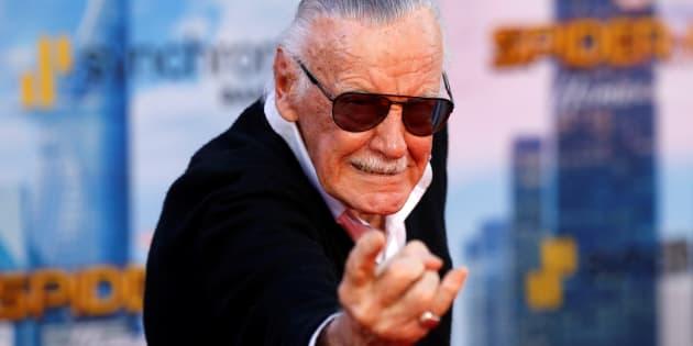 Stan Lee, papa de nombreux super-héros Marvel, accusé d'agression sexuelle.