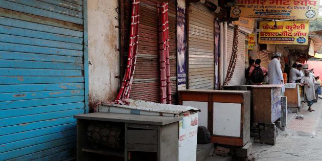Hindu Vigilantes Force Meat Shops In Gurgaon To Shut For Navratri