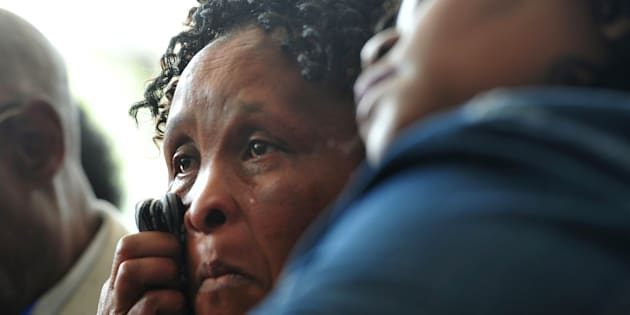 Jalisile  Ngqondwana, who is a mother of one of the victims, during the Life Esidimeni arbitration hearing at Emoyeni Conference Centre, Parktown on October 09, 2017 in Johannesburg.