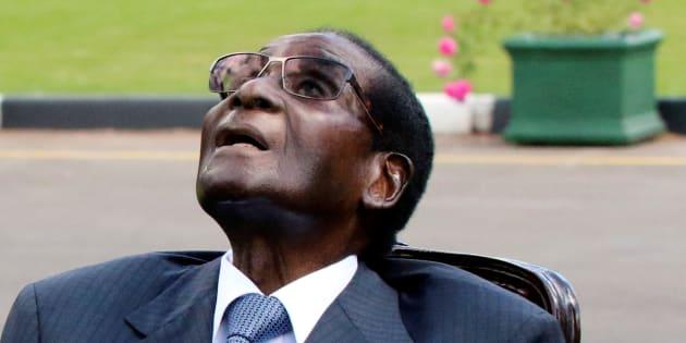 Former president of Zimbabwe, Robert Mugabe.