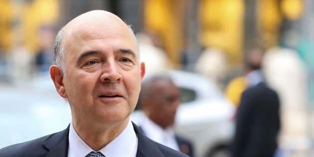 Pierre Moscovici, ancien Ministre de l'Économie et des Finances de François Hollande et actuelcommissaire européen aux Affaires économiques. REUTERS/Alessandro Bianchi