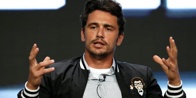 James Franco en una conferencia de prensa sobre 'The Deuce' en California, el 26 de julio de 2017.