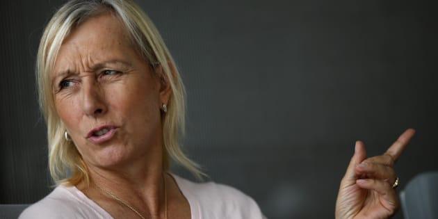 """Martina Navratilova, légende du tennis, dénonce les inégalités de salaires entre hommes et femmes à la """"BBC"""""""