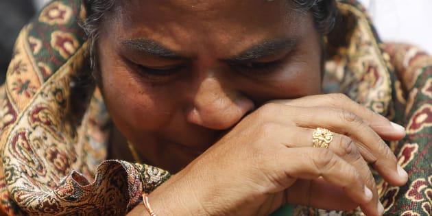 Radhika Vemula, mother of Rohith Vemula.