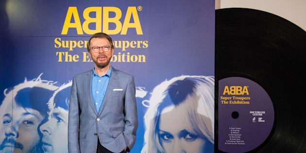 Bjorn Ulvaeus at the launch of the 'Abba: Super Troupers' exhibition, at the Royal Festival Hall, London.