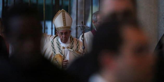 La vérité au sujet des prêtres pédophiles, quoiqu'il en coûte. REUTERS/Alessandro Bianchi