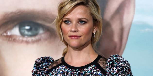 """Reese Witherspoon à l'avant-première de """"Big Little Lies"""" le 7 février."""
