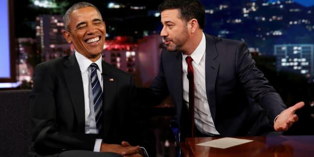 O apresentador da TV americana Jimmy Kimmel é defensor do Obamacare.